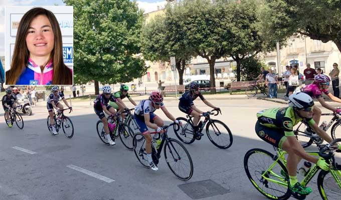 Giro Rosa, Claudia Cretti cade durante la settima tappa